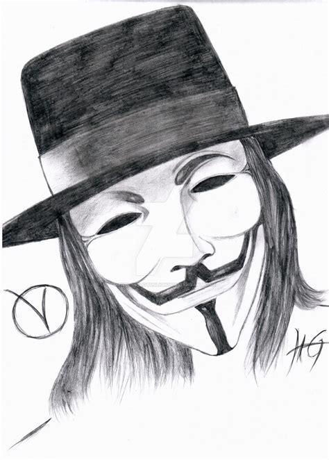 Drawing V For Vendetta by V For Vendetta By Endlesslotuslight On Deviantart