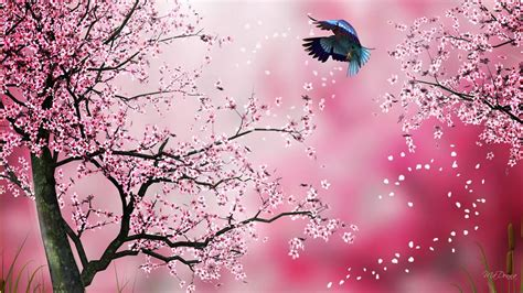 Wallpaper Sakura Pink | madonna s themes and wallpapers new background