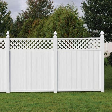 small house fence design 22 vinyl fence ideas for residential homes
