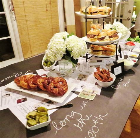 Adult Gastro Pub Birthday Party With Craft Beer Buffalo Buffet Food Ideas For Adults