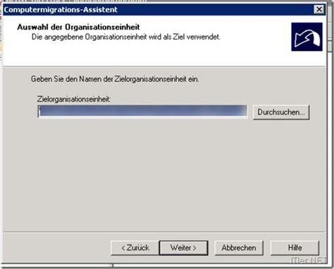 konto gepfã ndet wann wieder active directory benutzer umziehen in eine andere dom 228 ne