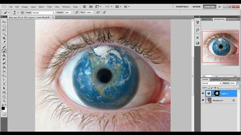 photoshop cs5 tutorial tiny planet effect photoshop cs5 eye effect planet earth speed art