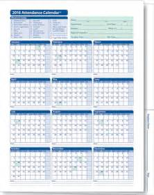 printable employee schedule template printable employee attendance calendar template 2016