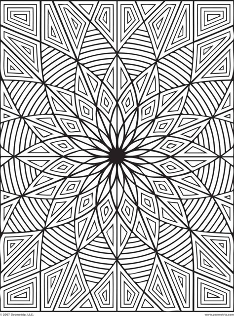 rectangle mandala coloring pages coloring pages geometrip free geometric coloring