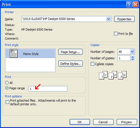 Calendar Printing Assistant For Outlook 2013 How To Print A Single Page Of An Email Message In Outlook