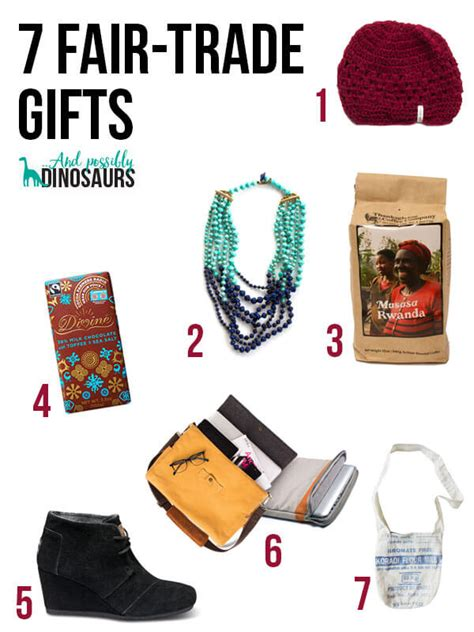 7 fair trade gifts and possibly dinosaurs