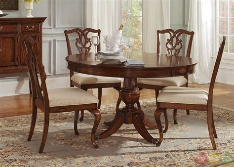 round dining room table sets ansley manor round formal dining room furniture set