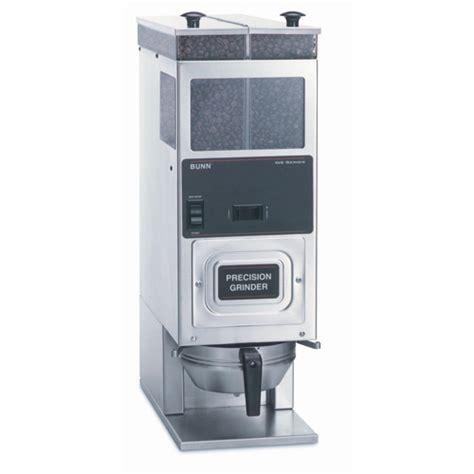 Bunn Coffee Maker With Grinder Dual Hopper Bunn G9 2t Hd Tall Grinder Stainless Abi