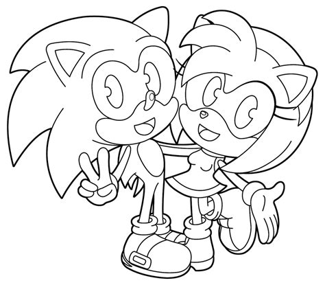 sonic and amy by sonictopfan on deviantart