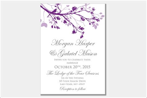 %name classy wedding invitations   Wedding Invitations with Large Names in Calligraphy ? Wedding Invitations