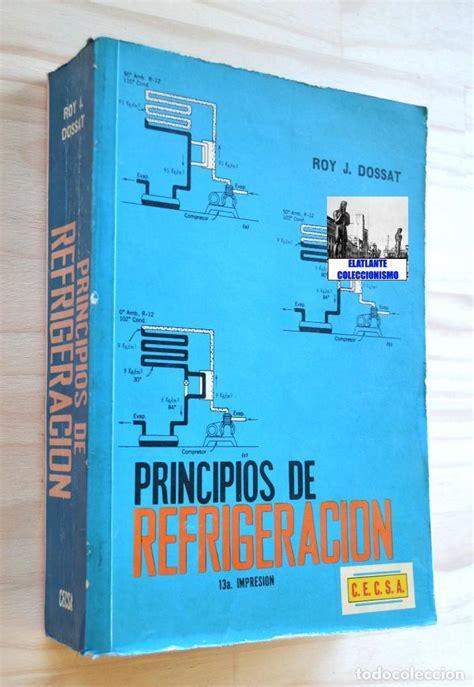 descargar libros de refrigeracion pdf descargar principios de refrigeracion roy dossat epub download