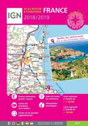 libro france 2018 tourist 97 atlas routier et touristique france 2018 2019 spiral 233