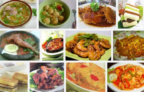 aneka resep menu masakan rumahan sederhana indonesia