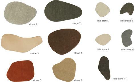 Shaped Rugs Stone Wool Rugs Hivemodern Com
