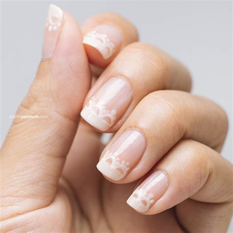 Wedding Nails by Wedding Nail Tutorial Something Blue