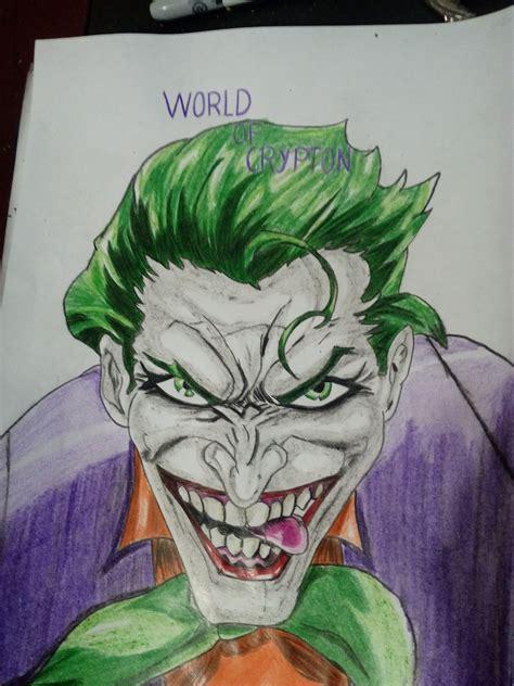 imagenes de un joker joker quot el guas 243 n quot dibujo steemkr