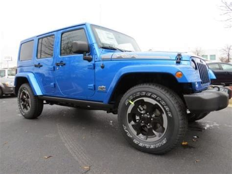 2014 Jeep Wrangler Unlimited Dimensions 2014 Jeep Wrangler Unlimited Polar Edition 4x4 Data Info