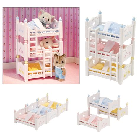 calico critters bunk beds calico critters triple baby bunk beds creative kidstuff