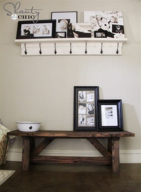 diy entrance bench diy bench for the entryway 15 home is where the