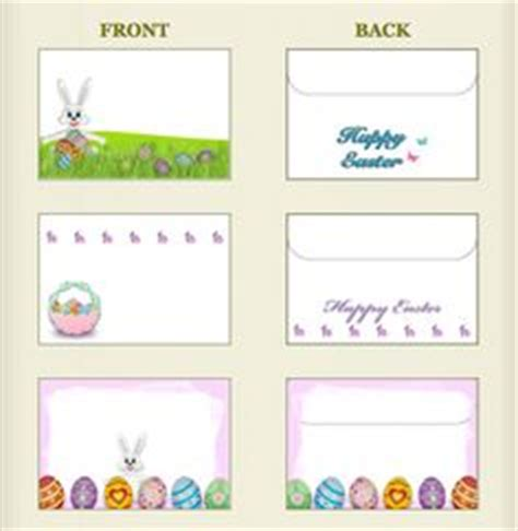 printable easter envelope 1000 images about printable envelopes on pinterest