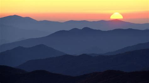 Free Background Check Tn Background Great Smoky Mountains At Sunset