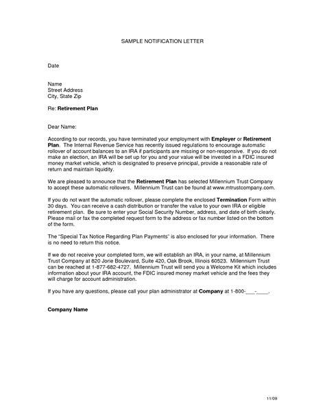 Official Letter Reminder best photos of retirement notification letter sle