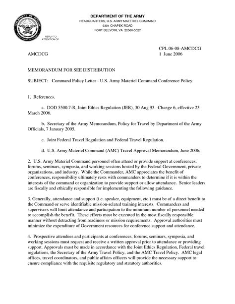 Army Acceptance Letter Exle 11 Best Images Of Assumption Of Command Memo Exle Navy Memorandum Format Exle Army