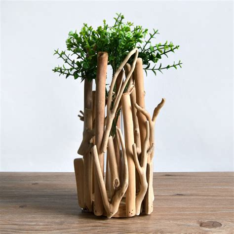 Handmade Wooden Flowers - f habitat handmade wooden ornaments wooden