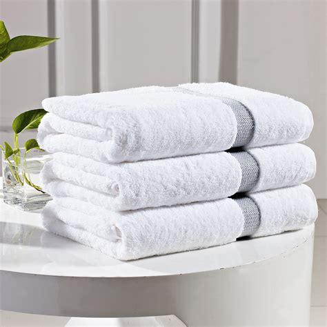 Handuk Towel One yarn dyed border hotel collection bath towels manufacturer king towel