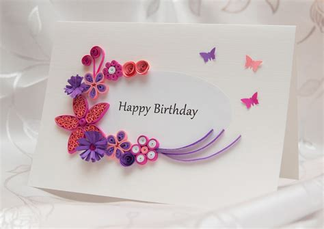 Handmade Happy Birthday - collection of handmade happy birthday cards