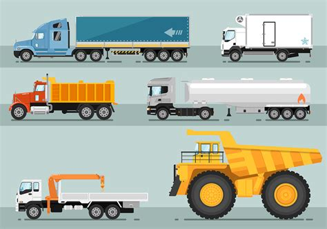 semi trailer truck semi tractor trailer parts diagram