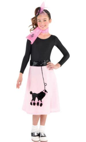 girls poodle skirt costume party city