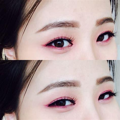 Eyeshadow And Eyeliner korean style makeup about hantin