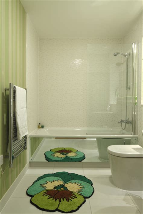 funky bathroom ideas funky green bathroom modern bathroom by