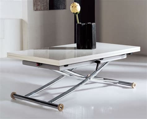 transforming table coffee table into dining table save