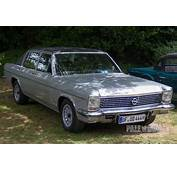 1976 Opel Diplomat 54 Front View  1970s Paledog