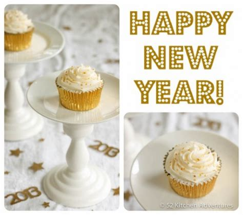 new year cupcake recipe chagne cupcakes