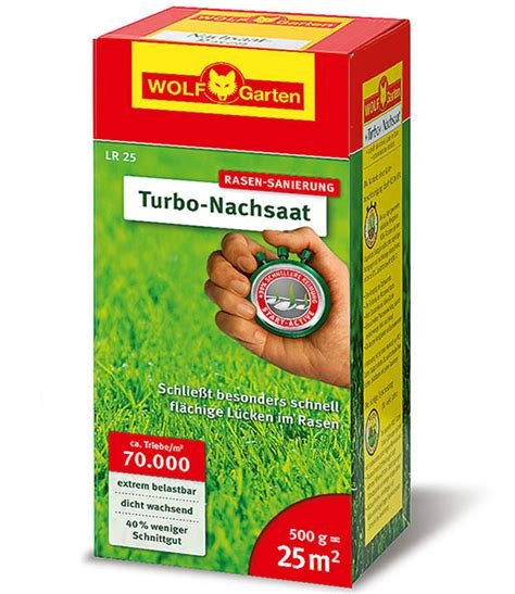 Wolf Garten Turbo Nachsaat 992 by Wolf Garten 174 Turbo Nachsaat 1a Qualit 228 T Baldur Garten