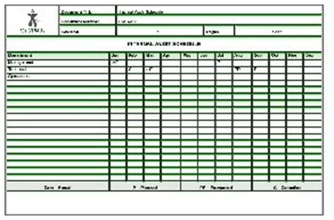 supplier audit schedule template audit schedule sle templates photo detailed