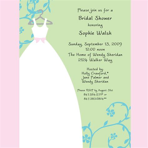 bridal shower invite template shutterfly bridal shower invitations template best