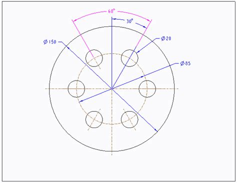 pattern sketch in creo solved show merged pattern dimension on drawing ptc