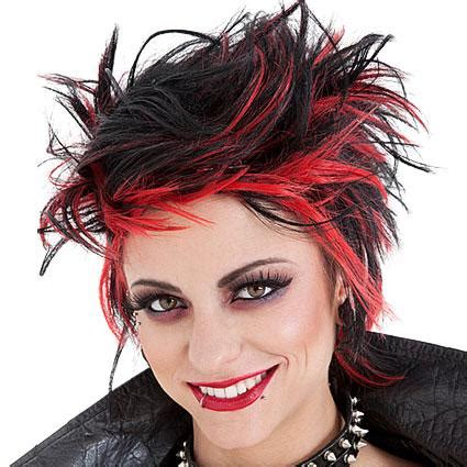 hair style fashion for fat ladies punk hair styles lovetoknow