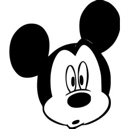 black mickey mouse  icon  black mickey mouse icons