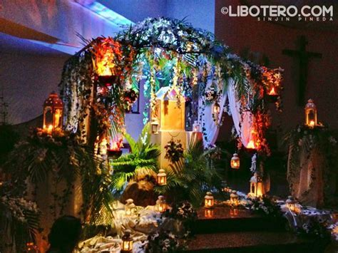 holy thursday altar of repose decorations Rome   Google