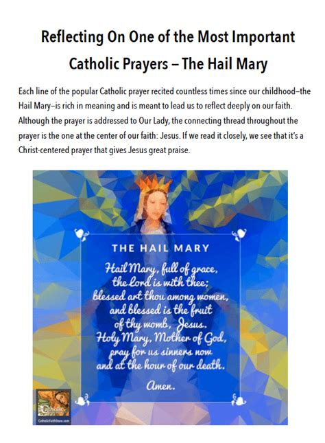 Hail Definition Of Hail By The Free Dictionary   understanding the hail mary one of the most important