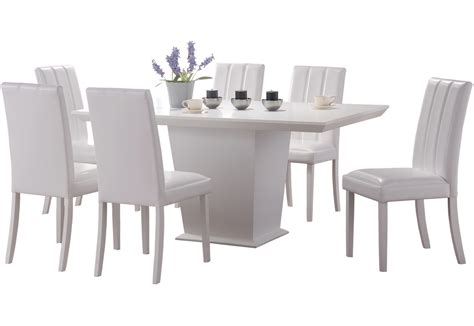 white dining room table set chairs elegant white dining room table and chairs design