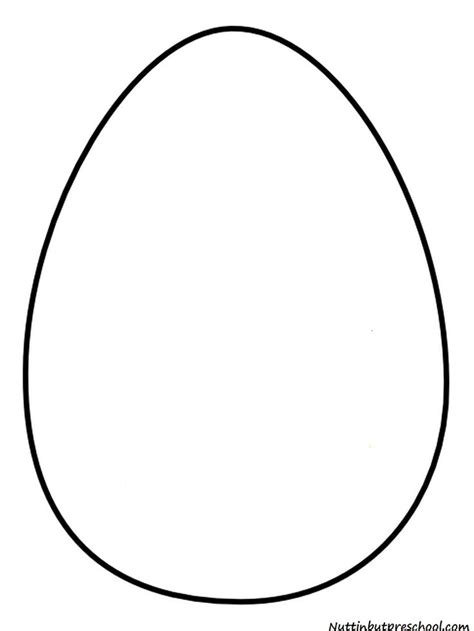 egg template 187 easter egg pattern and shiny paint recipe nuttin but