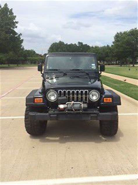 2000 Jeep Transmission Sell Used 2000 Jeep Wrangler Sport 4 0l 6cyl 5spd Manual