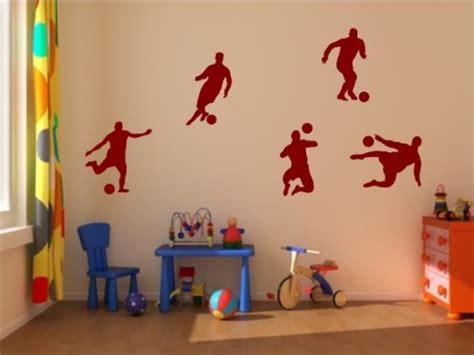 Wandtattoo Kinderzimmer Rot by Wandtattoo Fu 223 Wandleuchte Fussballvereine Und