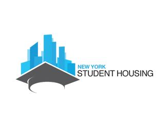 housing logo design new york student housing logo research logos pinterest student house